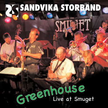 Greenhouse Live at Smuget CD Cover